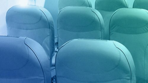Neotex aircraft interior cushions